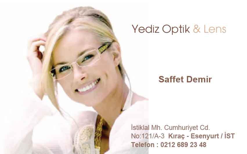 Gözlükçü Kartvizit