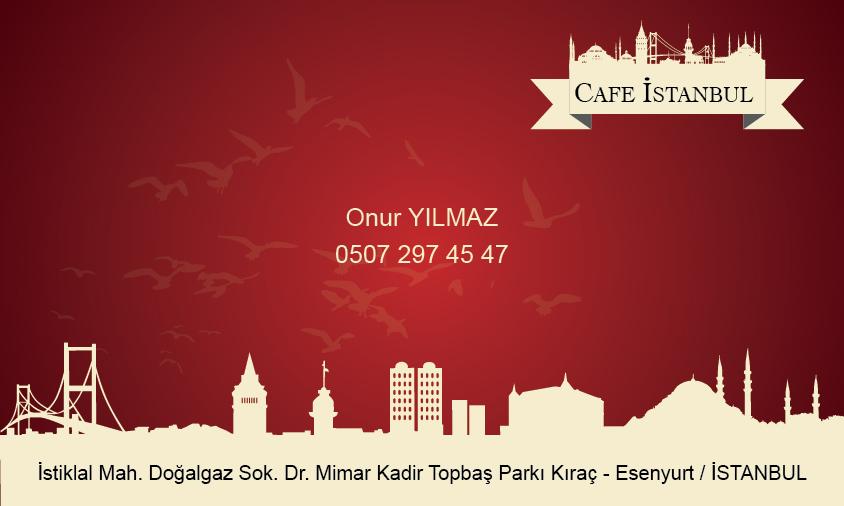 Cafe & Lokanta Kartviziti 1