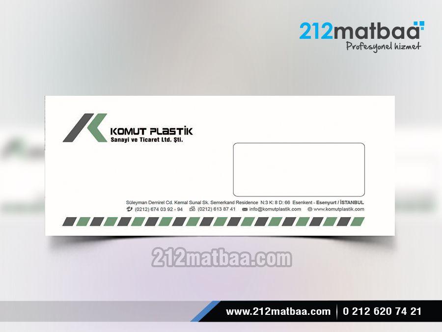 Kurumsal Zarf Tasarımı